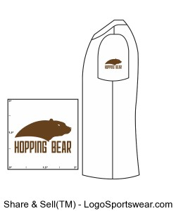HoppingBear Athletic Shirts - Women Design Zoom